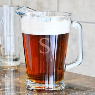 Personalized All Purpose Glass Pitcher