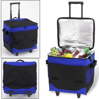 Picnic at Ascot 60-can Collapsible Rolling Cooler