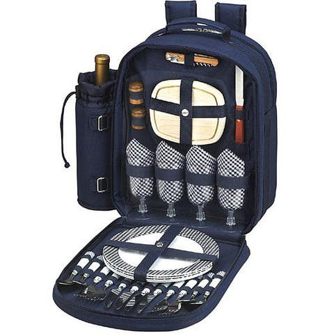 Picnic at Ascot Bold Picnic Backpack for Four