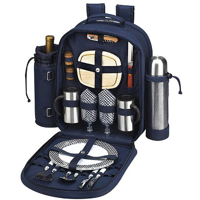 Picnic at Ascot Bold Coffee/ Picnic Backpack for Two