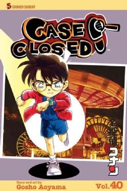 Case Closed 40: Shonen Sunday Edition (Paperback)