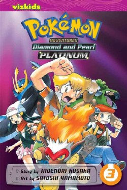 Pokemon Adventures 3: Diamond and Pearl/Platinum (Paperback)