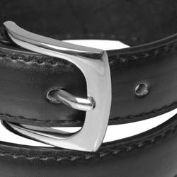 Daxx Unlimited Boy's Genuine Leather Black Belt