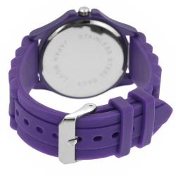 Geneva Platinum Women's Rhinestone Louisiana State University Watch - Thumbnail 1