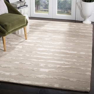 Safavieh Handmade Soho Vitaliana Stripes N.Z. Wool Rug