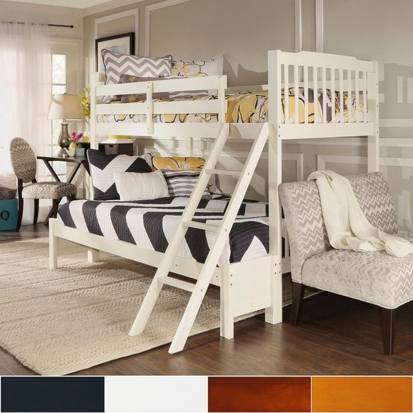Maxton Twin Over Full Bunk Bed In White