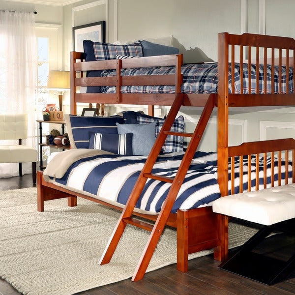Simone Twin Over Full Bunk Bed by IQ KIDS. Simone Twin Over Full Bunk Bed by IQ KIDS   Free Shipping Today