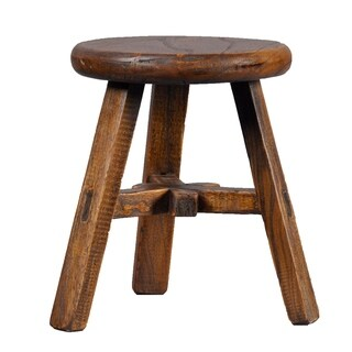 Vintage Chinese-style Round Kid's Stool