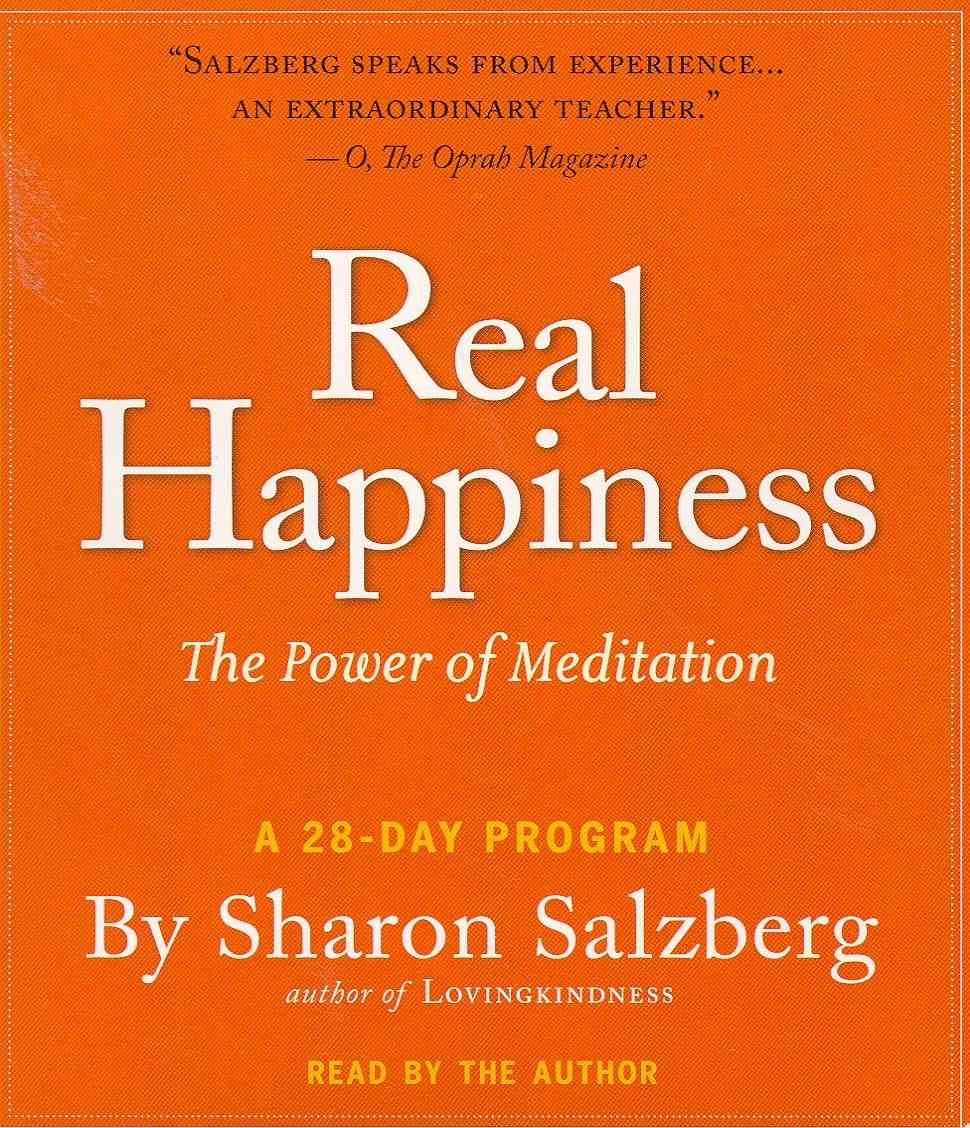 Real Happiness: The Power of Meditation: A 28-Day Program (CD-Audio)