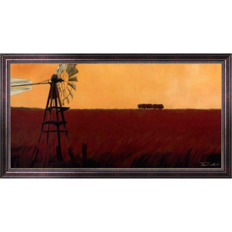Tandi Venter 'Homeland II' Framed Canvas Art