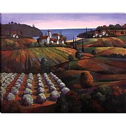 T.C. Chiu 'Tuscan Vista II' Gallery-wrapped Canvas Art