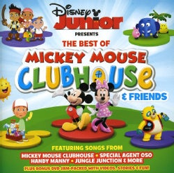 DISNEY JUNIOR-THE BEST OF MICKEY MOUSE CLUBHOUSE - DISNEY JUNIOR-THE BEST OF MICKEY MOUSE CLUBHOUSE