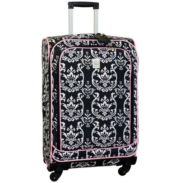 Jenni Chan Damask 360 Quattro 25-inch Spinner Upright Suitcase