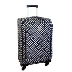 Jenni Chan Signature 24-inch Spinner Upright Suitcase