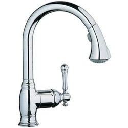Grohe Bridgeford Single-handle Chrome Kitchen Faucet