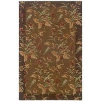 "Hand-tufted Botanical Wool Area Rug (3'6 x 5'6) - 3'6"" x 5'6"""