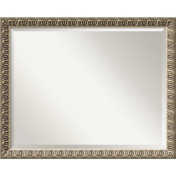 Wall Mirror Large, Argento Champagne 31 x 25-inch - Gold