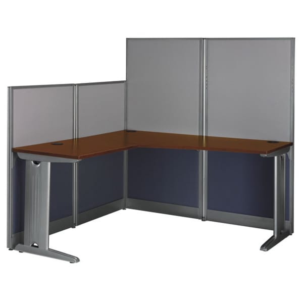 Bush Office In An Hour 64 5 Inch L Shaped Workstation Desk