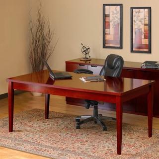 Mayline Luminary Cherry 36 x 72-inch Table Desk
