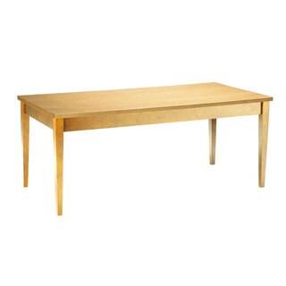 Mayline Luminary Maple 36x72-inch Table