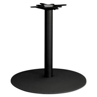 HON Single Column Hospitality Base 28-inch-diameter x 27-7/8-inch high Black