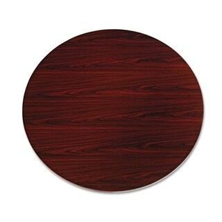 HON 10500 Series Round Table Top 48-inch Diameter Mahogany - N/A