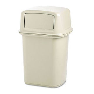 Rubbermaid Commercial Beige Ranger Fire-safe Container