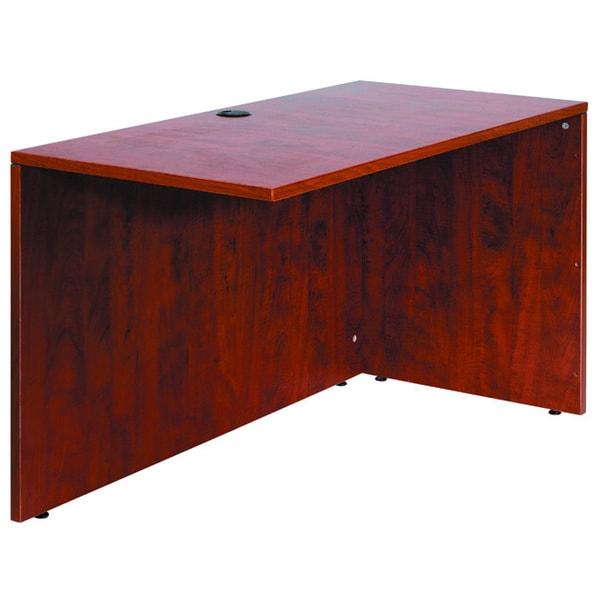Boss 36 Inch Mahogany Reversible Desk Return