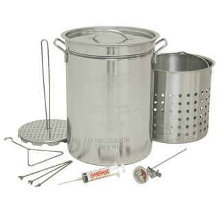 Bayou Classic 32-quart Stainless Steel Turkey Fryer Cookware Set