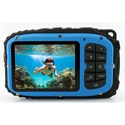 Coleman Xtreme C5WP 12 Megapixel Compact Camera - Blue - Thumbnail 1