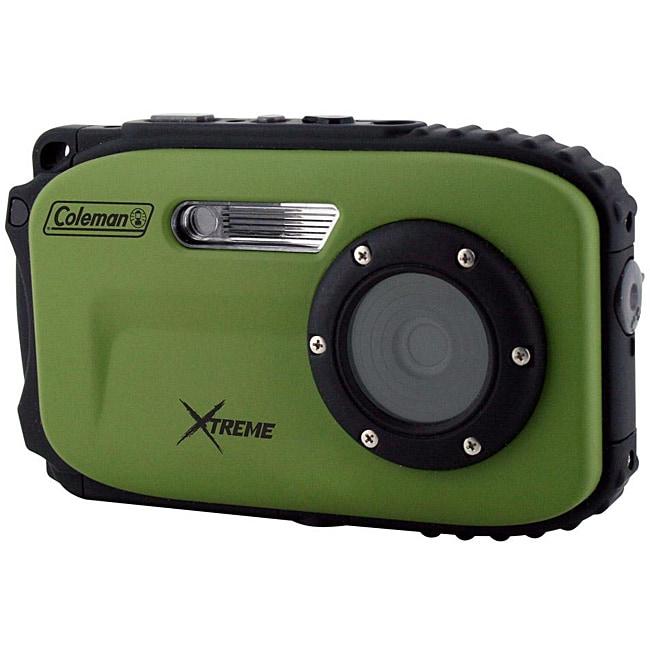 Coleman Xtreme 12MP Waterproof Green Digital Camera