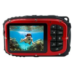 Coleman Xtreme 12MP Waterproof Red Digital Camera - Thumbnail 1