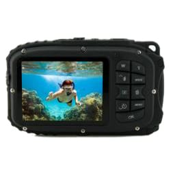 Coleman Xtreme C5WP-BK 12MP Waterproof Black Digital Camera - Thumbnail 1