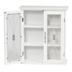 Veranda Bay Two-door Wall Cabinet by Elegant Home Fashions