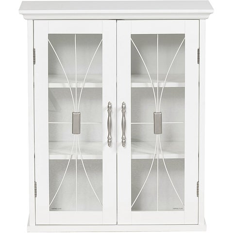 Veranda Bay 2-door Wall Cabinet by Elegant Home Fashions