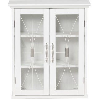 White Bathroom Wall Cabinets wall cabinet bathroom cabinets & storage - shop the best deals for