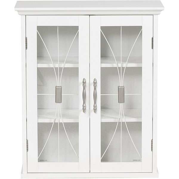 Veranda Bay 2 Door Wall Cabinet By Elegant Home Fashions