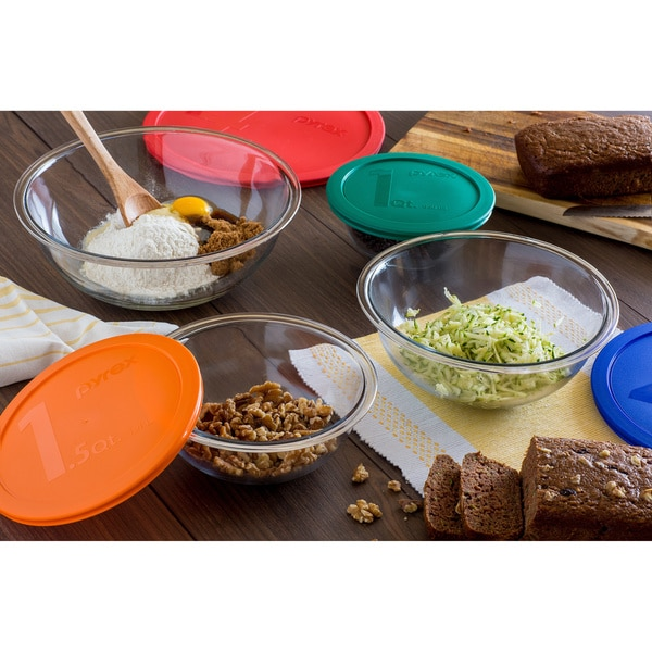 Pyrex Smart Essentials 8-piece Bowl Set