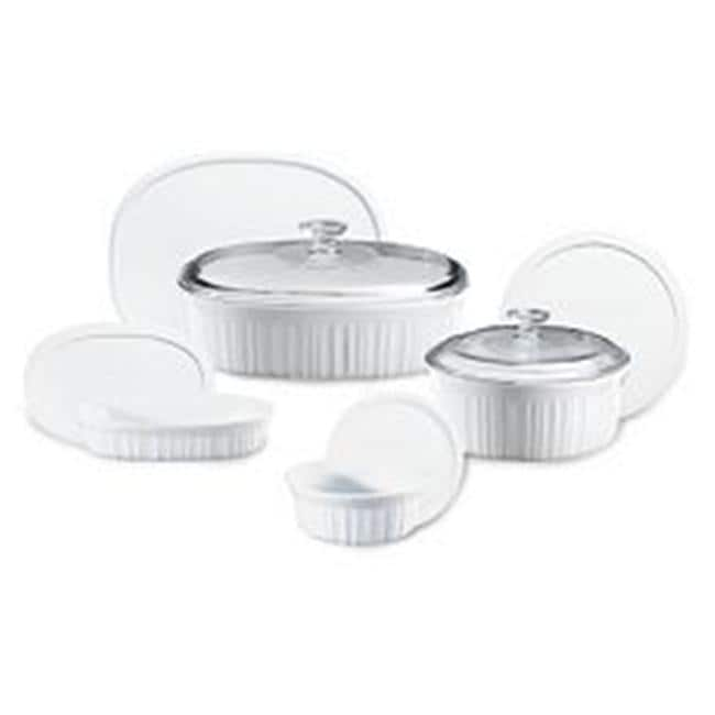 Corningware French White 10-Pc Set