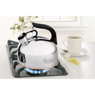 Revere Traditional 2.33-quart Whistling Tea Kettle
