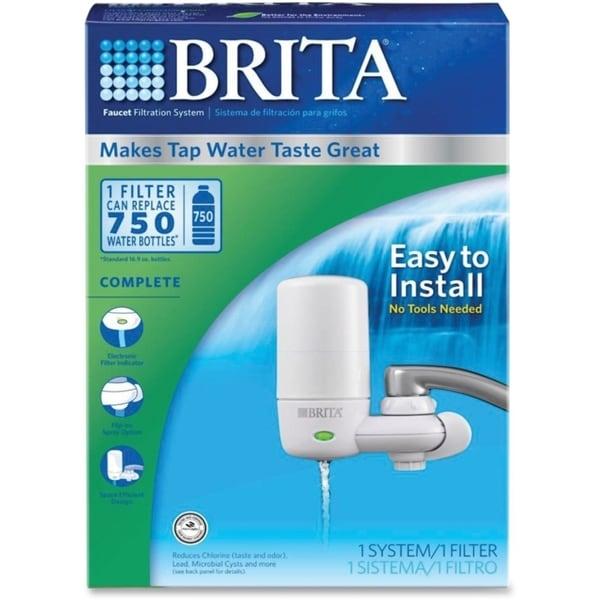 Brita Ultra Faucet Mount Filter System Free Shipping