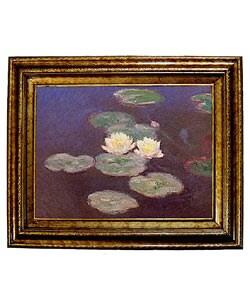 Monet Nympheas Framed Canvas
