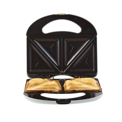 Continental Electric 2-Slice Sandwich Maker White