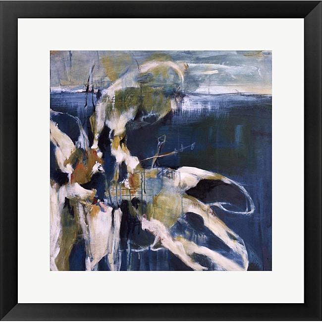 Terri Burris 'Life from the Sea II' Framed Art Print