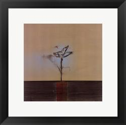 Sarah Stockstill 'Zen Blossom II' Framed Print Art