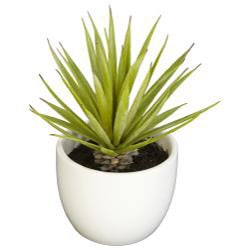 Set of 3 Southwest Collection Agave Silk Plants - Thumbnail 1