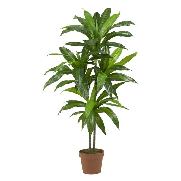 Porch & Den Mill Park Division Dracaena Real Touch Artificial Plant. Opens flyout.