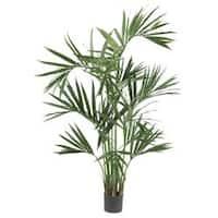 Six-foot Silk Kentia Palm Tree
