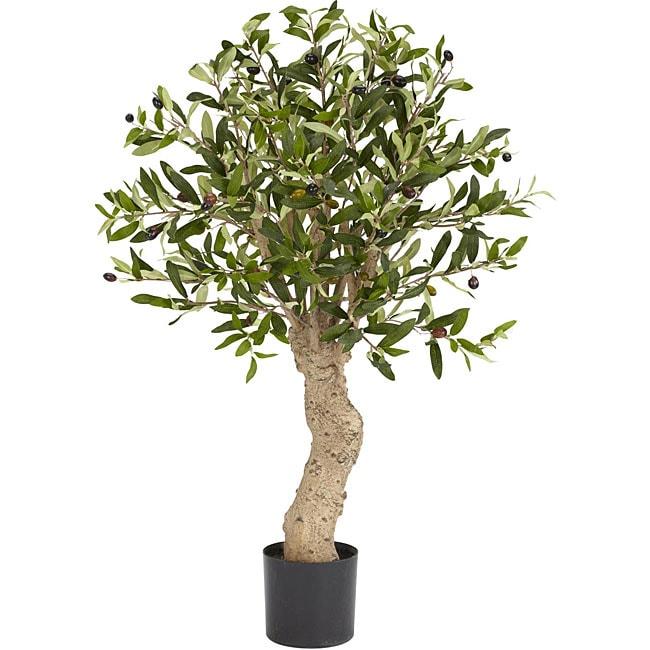 Silk Olive Tree
