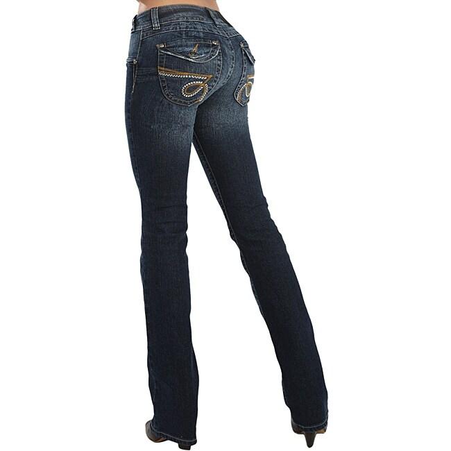 Helen Women's Stretch Push-up Jeans